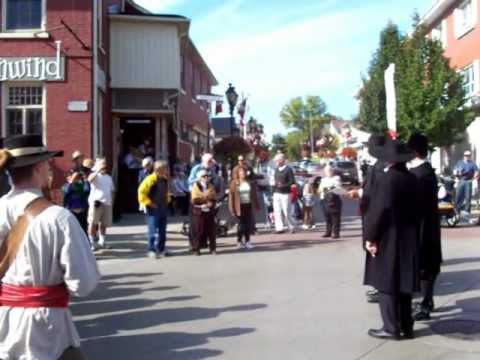 Mackenzie agitating in Newmarket, Upper Canada - Rebellion of 1837