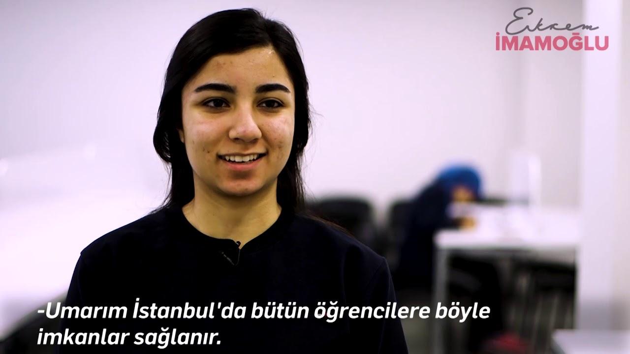 İstanbul'daki yurt sorununu çözeceğiz.  ekrem imamoğlu