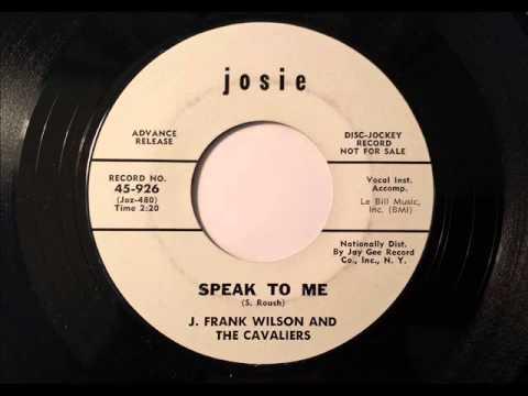 Speak To Me by J.Frank Wilson
