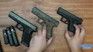 Glock Comparison G17 G19 G26