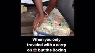 Express packing when traveling with hand luggage only