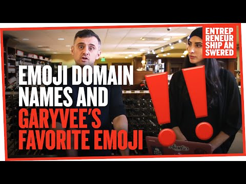 Emoji Domain Names and Garyvee's Favorite Emoji