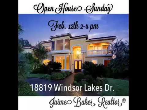 Open House: 18819 Windsor Lakes Dr., Houston, TX