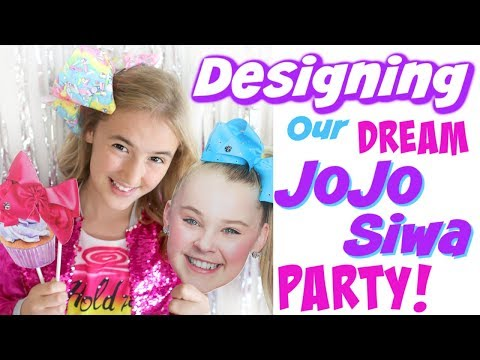 Designing Our DREAM JoJo Siwa Party!