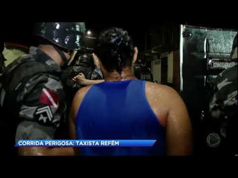 Bandidos se entregam após fazer taxista refém no Pará
