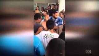 Protests disrupt Nauru Parliament