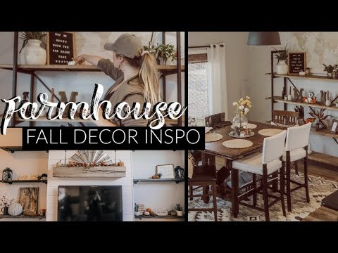 FALL DECOR INSPIRATION  | CLEAN & DECORATE WITH ME 2019