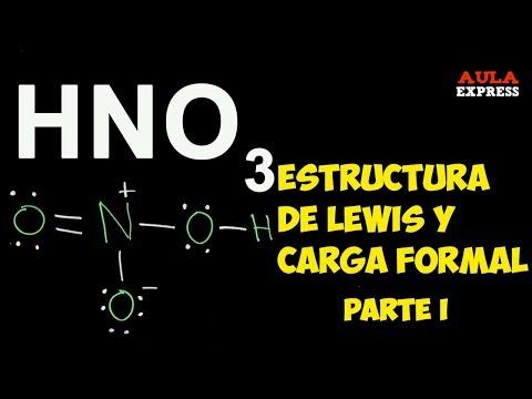 QUÍMICA Estructura de Lewis: HNO3  Enlace Dativo Carga Formal BACHILLERATO AULAEXPRESS
