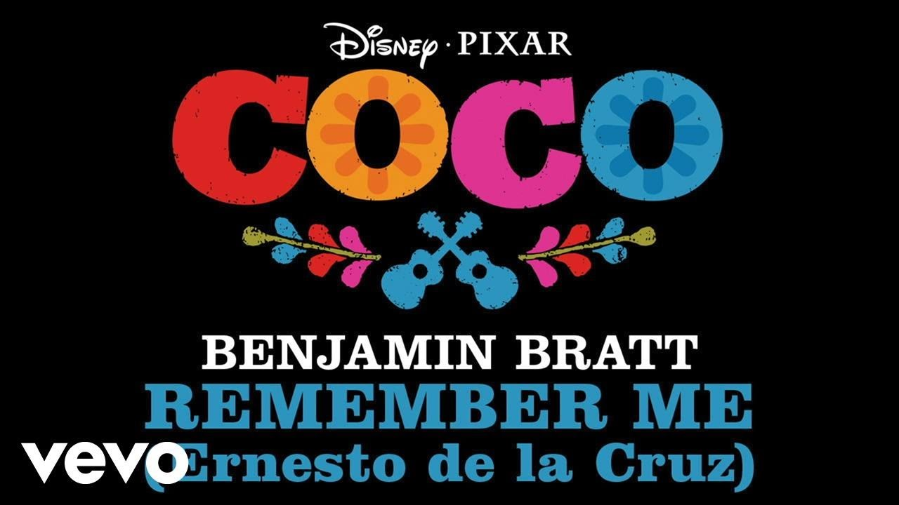 "Benjamin Bratt – Remember Me (Ernesto de la Cruz) (From ""Coco""/Audio Only)"