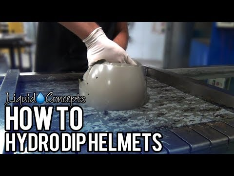 HOW TO HYDRO DIP HELMETS | Liquid Concepts | Weekly Tips and Tricks