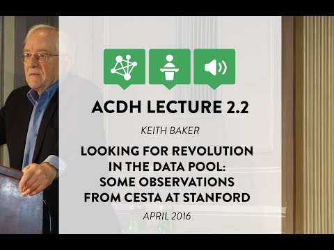 ACDH Lecture 2.2 – Keith Michael Baker – Looking for Revolut