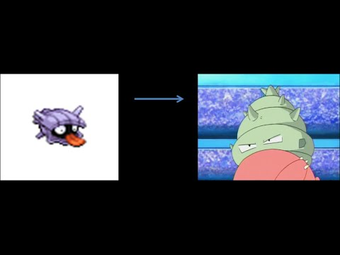 Pokemon Theory: why Shellder looks different on Slowbro - YouTube