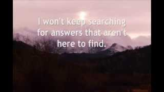 Where I Belong (with lyrics) (Building 429)
