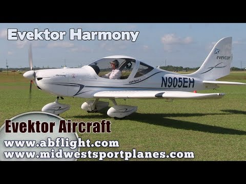 Evektor Harmony Light Sport Aircraft Review