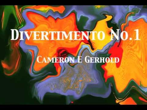 Divertimento No.1 (Mvt II Adagissimo)  for Double Wind Quintet + Bass Clarinet // Cameron E. Gerhold