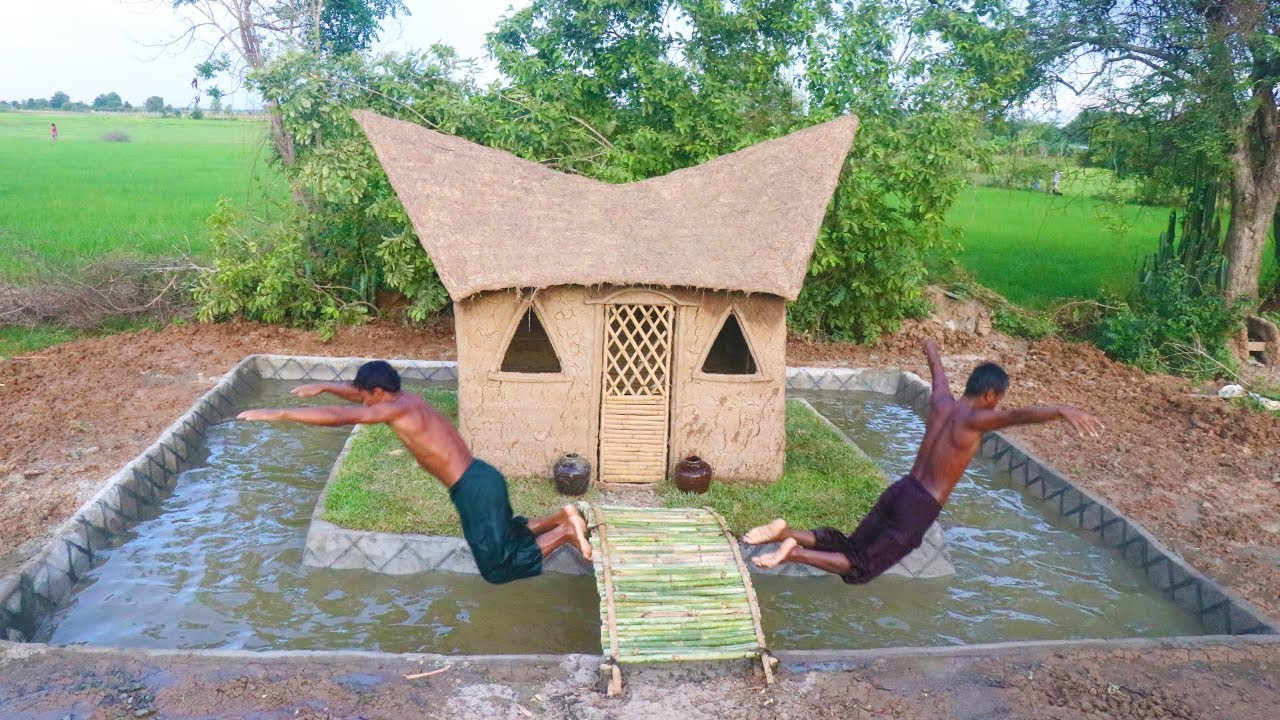 Build Swimming Pool Around Mud House