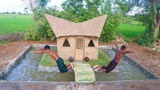 Build Swimming Pool Around Mud House