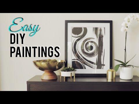 EASY DIY Paintings- CHRISSPY
