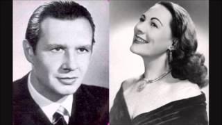 Verdi - La Forza del Destino - Leonora - Guardiano duet - Tebaldi, Siepi - Mitropoulos (1953)