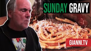 Sunday Gravy, Italian Recipe - Gianni