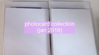 Kpop Photocard Collection (January 2018) | LOONA/RED VELVET/WANNA ONE and more...