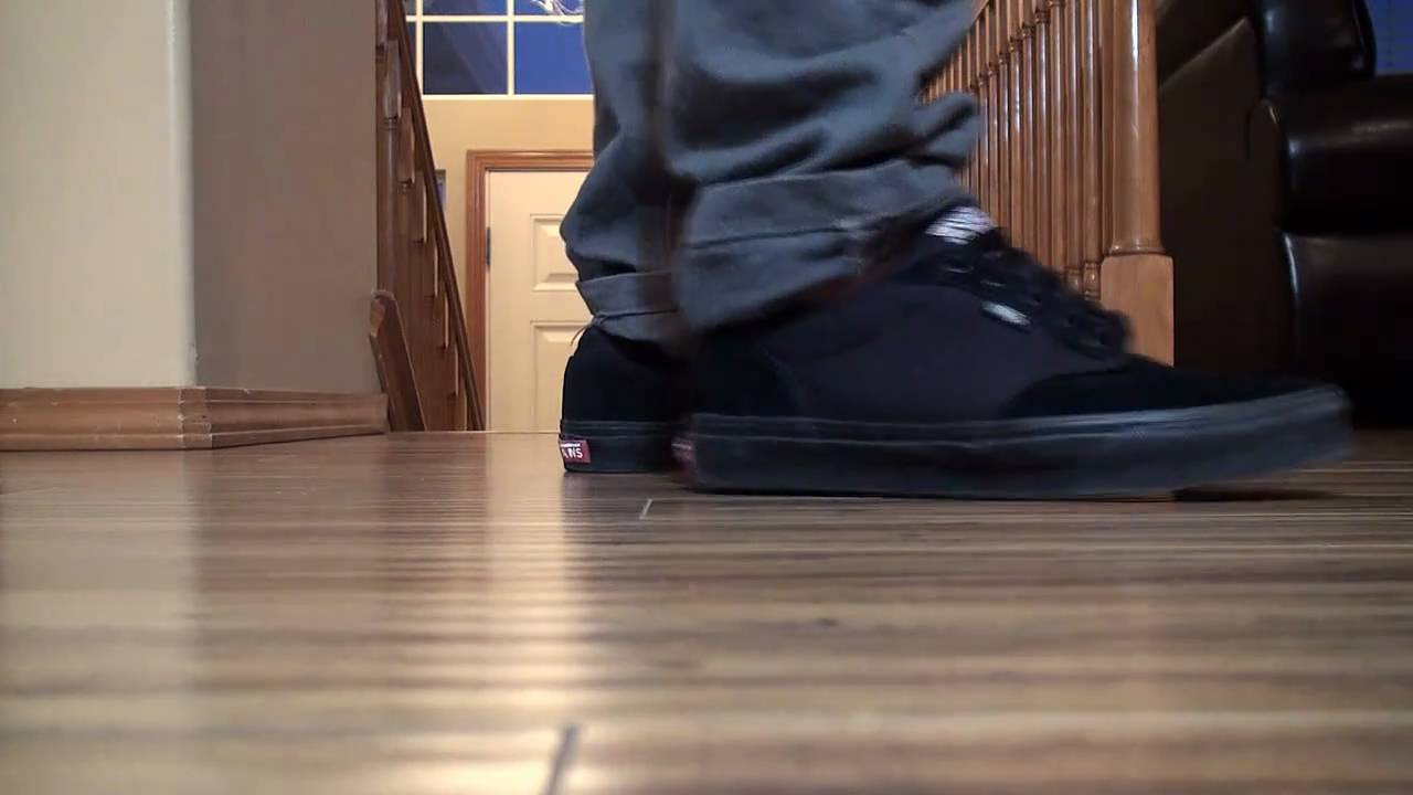 Vans Atwood Black Black on feet - YouTube 4b114e68e2