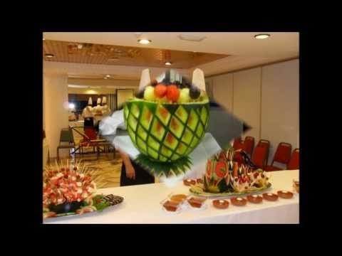 Decoraciones buffet con sandias doovi - Decoracion buffet ...