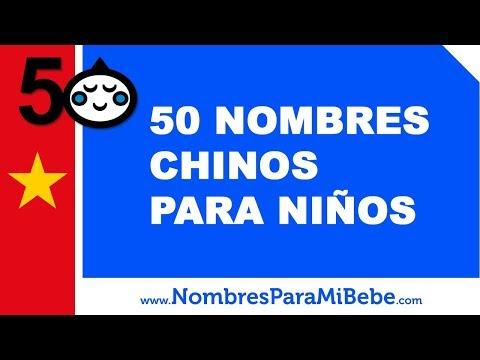 Nombres Masculinos De Origen Chinos El Listado Completo2019