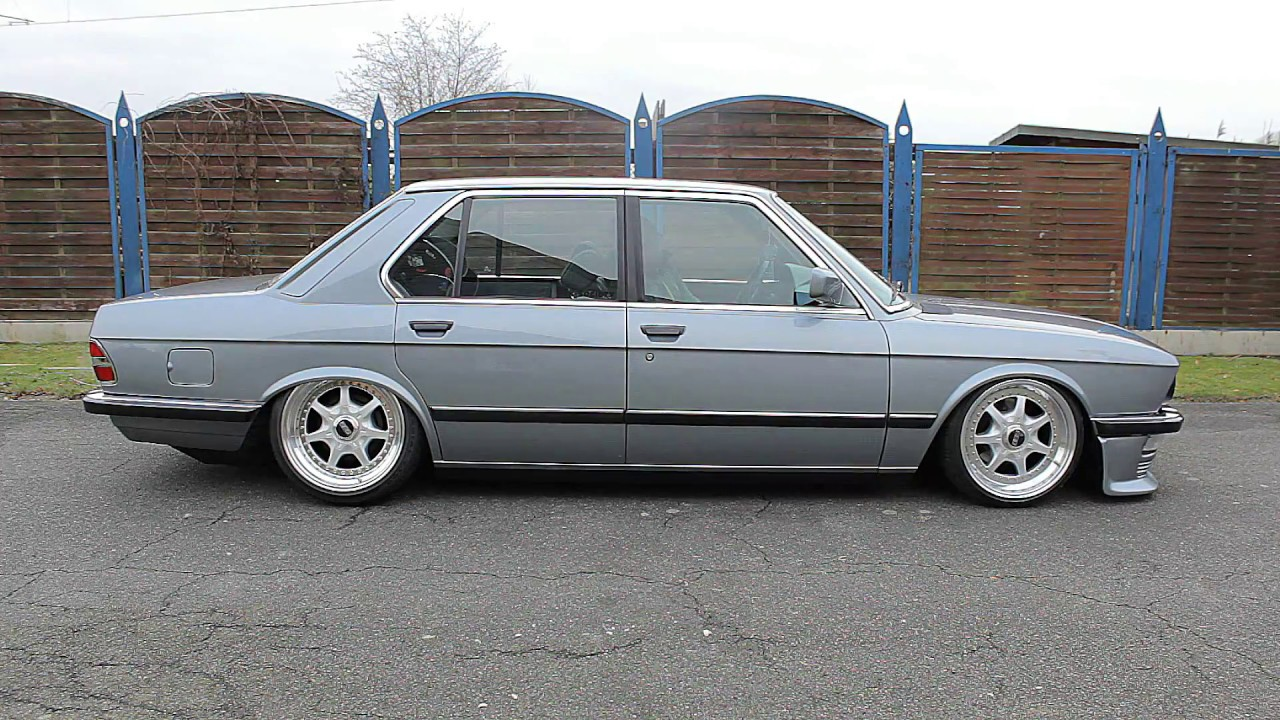Bmw E28 With Airride Stance Camber Bbs Ak Society Youtube