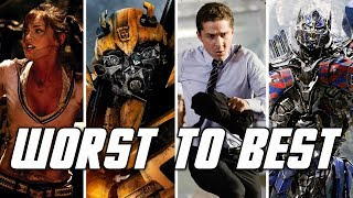 Ranking Michael Bay's Transformers Movies