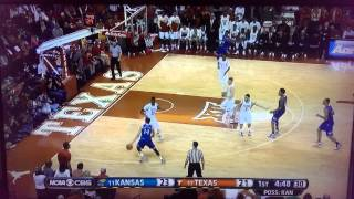 Kansas Jayhawks vs. Texas Longhorns 1/24/2015