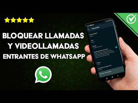 Cómo Bloquear las Llamadas y Videollamadas Entrantes de WhatsApp a un Contacto