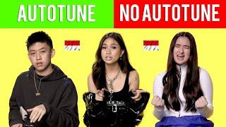 GENIUS INTERVIEW VS REAL SONG *AUTOTUNE VS NO AUTOTUNE (RICH BRIAN, NIKI, STEPHANIE POETRI)