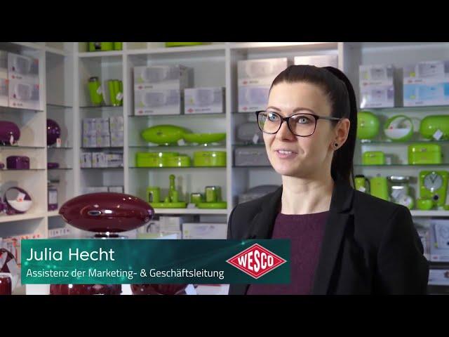 Julia Hecht von Wesco M. Westermann & Co. GmbH über die Zusammenarbeit mit Performance Medien