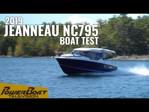 2019 Jeanneau NC 795 Boat Test | PowerBoat Television