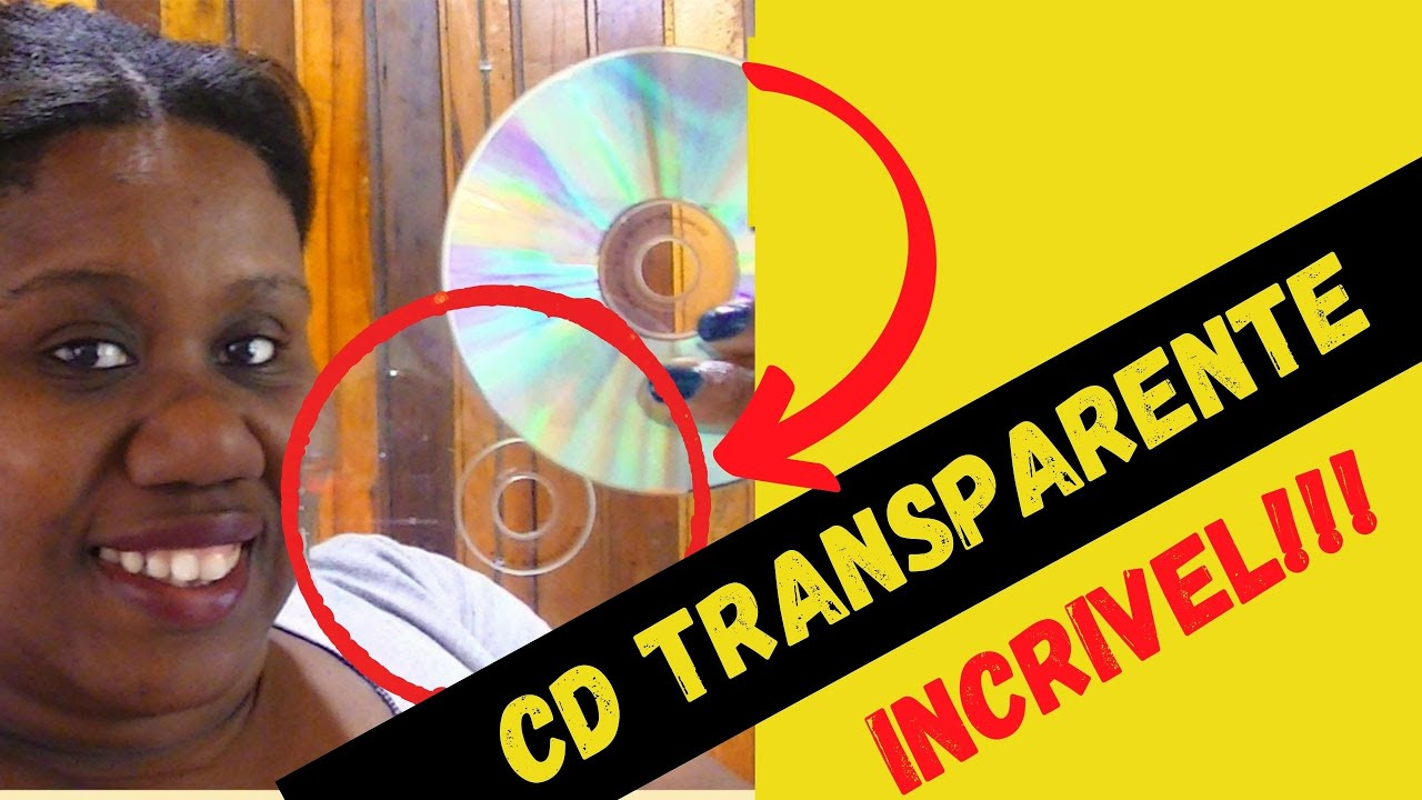 Artesanato Garrafa Pet Como Fazer ~ Como tirar a película brilhante do CD velho gravável para