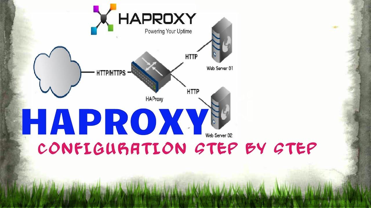 Haproxy setup step by step