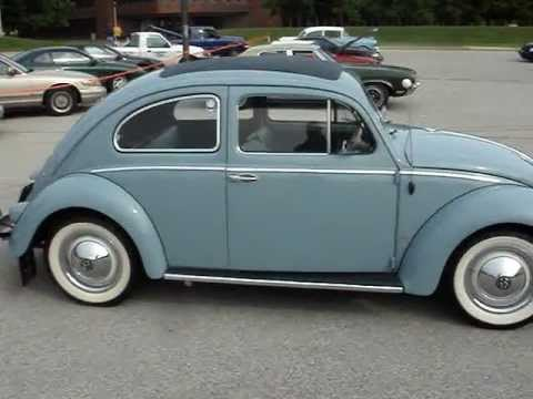 1957 VOLKSWAGEN BEETLE - WORLDWIDE SALE LEADER - YouTube