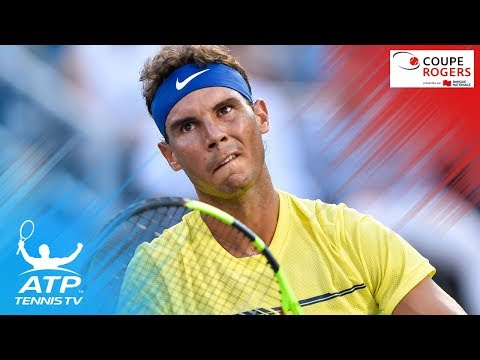 Federer & Nadal win; Monfils & Zverev save match points | Coupe Rogers 2017 Highlights Day 3
