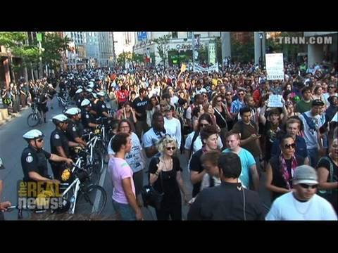 Torontonians gather at police HQ to condemn abuses