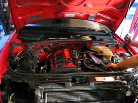 starting engine for first time 1998 audi a4 built. Black Bedroom Furniture Sets. Home Design Ideas