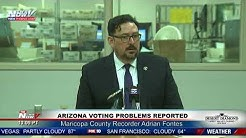 ELECTION PROBLEMS: Arizona Voters Experiencing Problems Voting In Primary