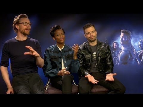Wen töten die Avengers? | Avengers: Infinity War Sebastian Stan & Letitia Wright & Tom Hiddleston