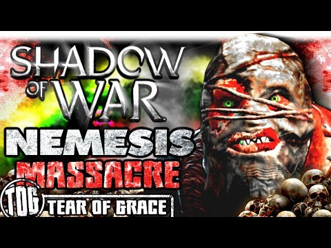 THE GREAT GRAVITY NEMESIS MASSACRE | Middle Earth: Shadow of War - SHADOW WARS