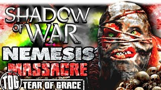 THE GREAT GRAVITY NEMESIS MASSACRE   Middle Earth: Shadow of War - SHADOW WARS