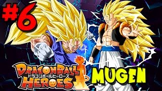 Fusions with the Power of Gods! | Dragon Ball Heroes: MUGEN - Episode 6