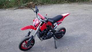 50cc Kids Dirt Bike Gas Powered Mini Pit Bike For Sale From SaferWholesale.com