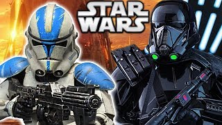 Are 501st Clones Stronger Than Death Troopers? Star Wars Explained