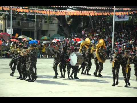 Philippine Army Band 7th Infantry Division Marching Band Villasis Talong Festival 2016