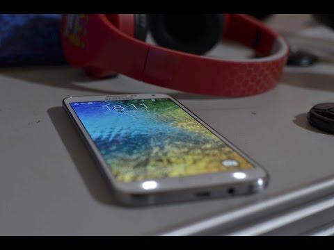 Samsung E7 Review